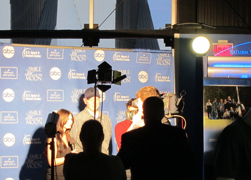 Scott Goudy being Interviewed on the Red Carpet