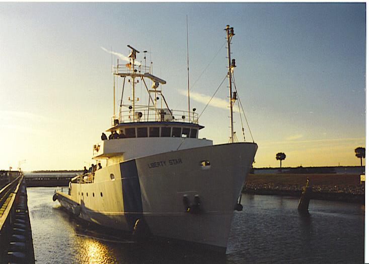 Liberty Star SRB Recovery Ship