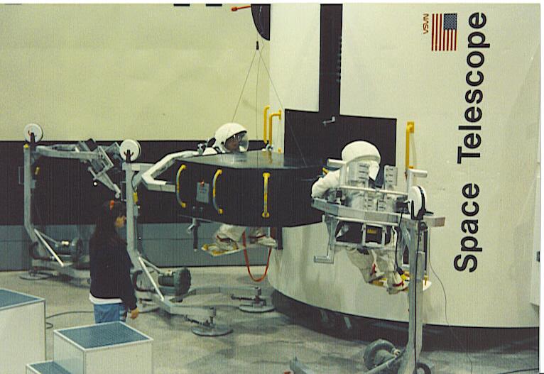Space Telescope EVA on TCF