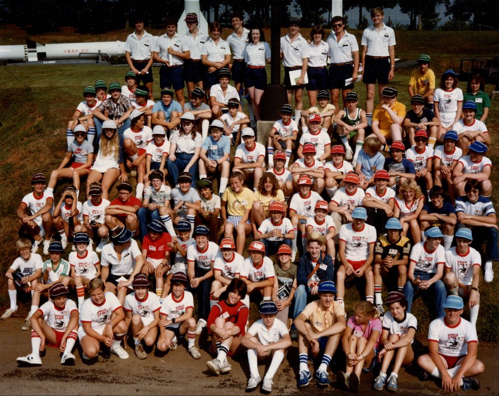 Group Photo from Very First Space Camp, June 1982