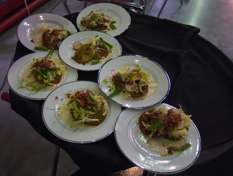 2012 HoF Appetizer - Fried Green Tomatoes