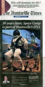 Huntsville Times Front Page - June 03, 2012