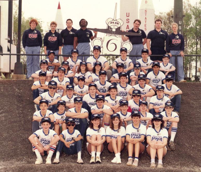 Mark Lopa's 1985 Level II Team Photo