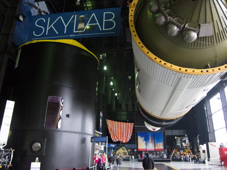 Skylab on Display in the Davidson Center