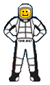 Astronaut from New Logo
