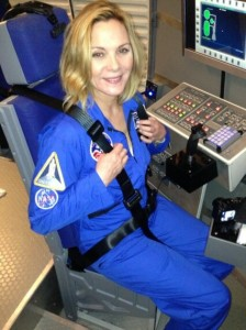 Kim Cattrall at Space Camp