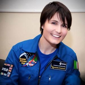 ESA Astronaut Samantha Cristoforetti