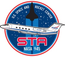 Space Camp Shuttle Training Aircraft Indiegogo Campaign Logo
