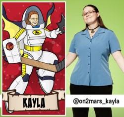Kayla LaFrance - King of the Nerds