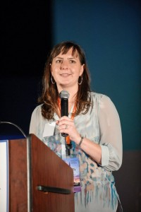 Charity Nehls Stewart Speaking at a Social Media Summit