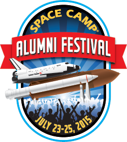 Space Camp Alumni Festival Logo