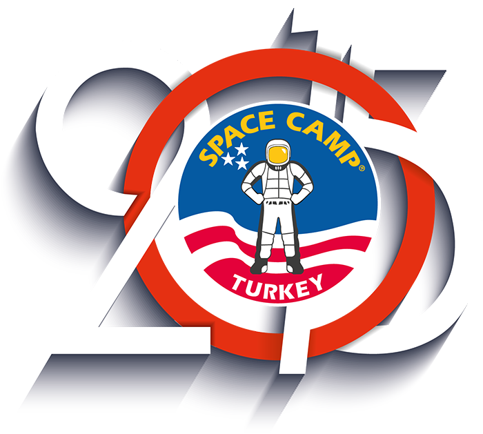 Space Camp Turkey - 15th Anniversary 2015 Logo