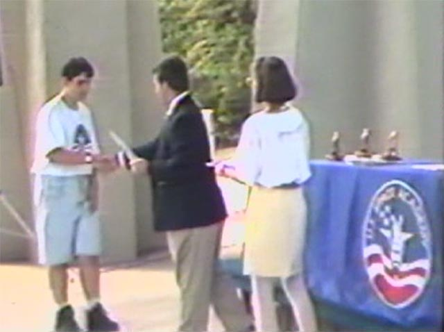 Mike Flachbart Graduates Vincent Vazzo from SA Lvl I in August 1995