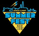 Space Camp Summer Fest 2016 Logo