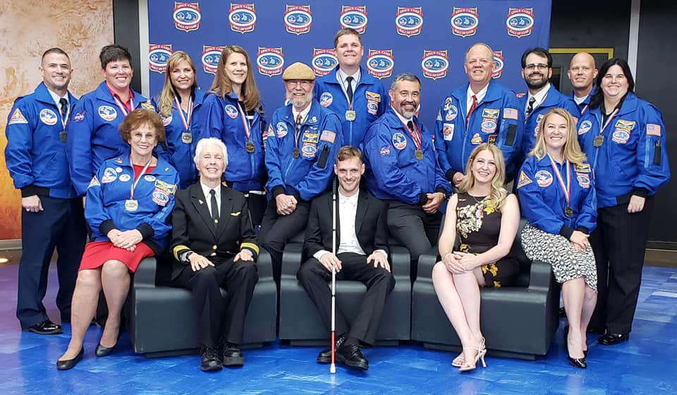 Space Camp Hall of Fame 2019 Group