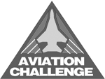 Aviation Challenge Logo - Greyscale